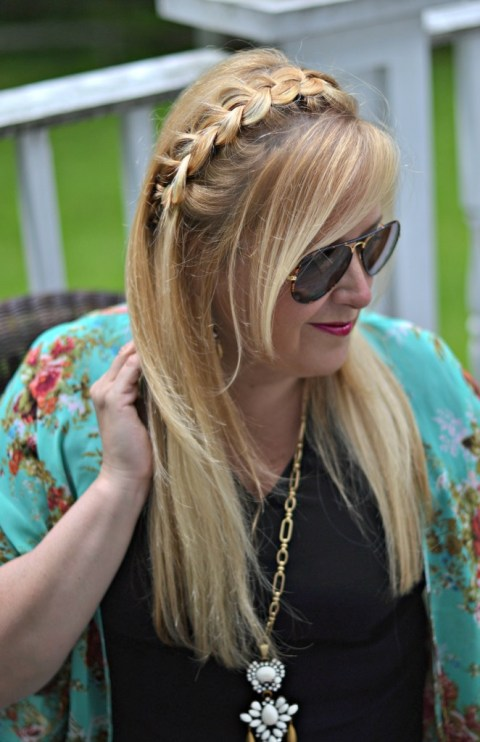 Ashley Varcelli at Salon Lofts - stylist to bloggers in Cleveland!