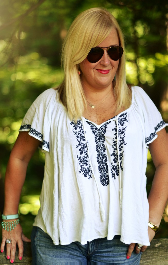 Embroidery that is on-Target!  Emrboidered clothing for under $50!  II  GlamKaren.com