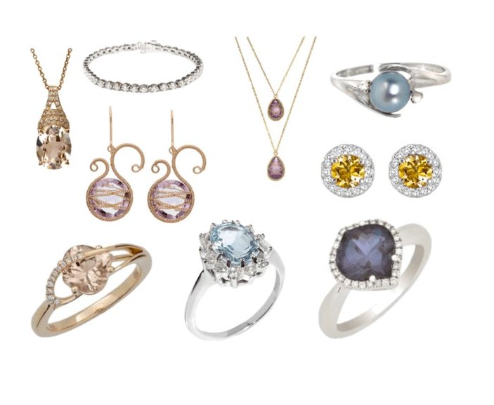 Say YES to new #jewelry! Can I have them all? #bling #sparkle #diamonds| GlamKaren.com