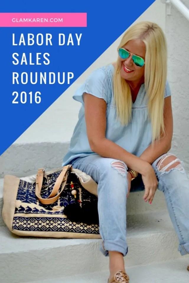 Labor Day Sales Roundup 2016  |  GlamKaren.com