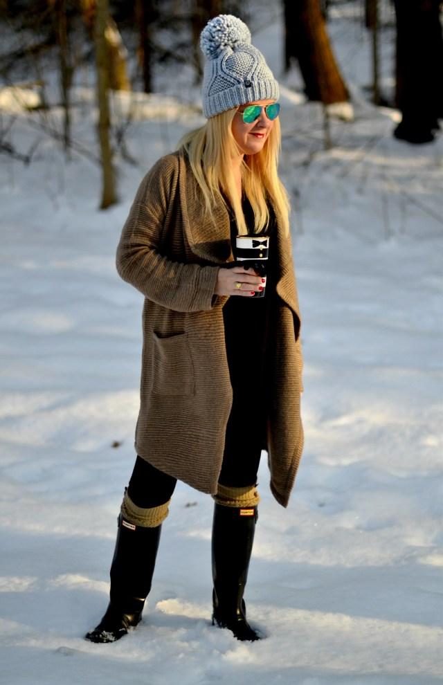 Cozy Chic on New Years Day | GlamKaren.com