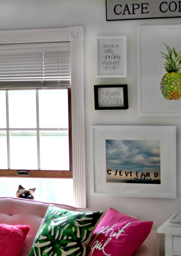 How to Create a Gallery Wall in 5 Simple Steps