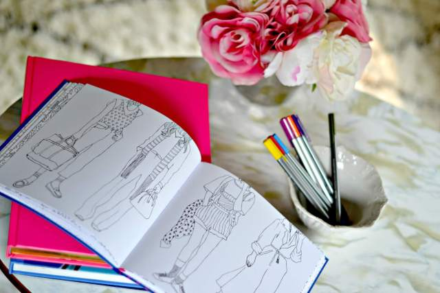 New York Street Style: A Coloring Book (for adults)