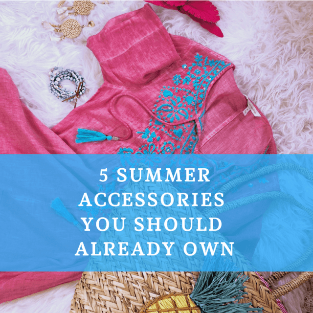 5 Summer Accessories You Should Already Own. #summer #accessories #jewelry #bags #hat #fashion #Boho #trendy #musthave #shoes #forwomen #cute #necklace #pins #flower #bracelet