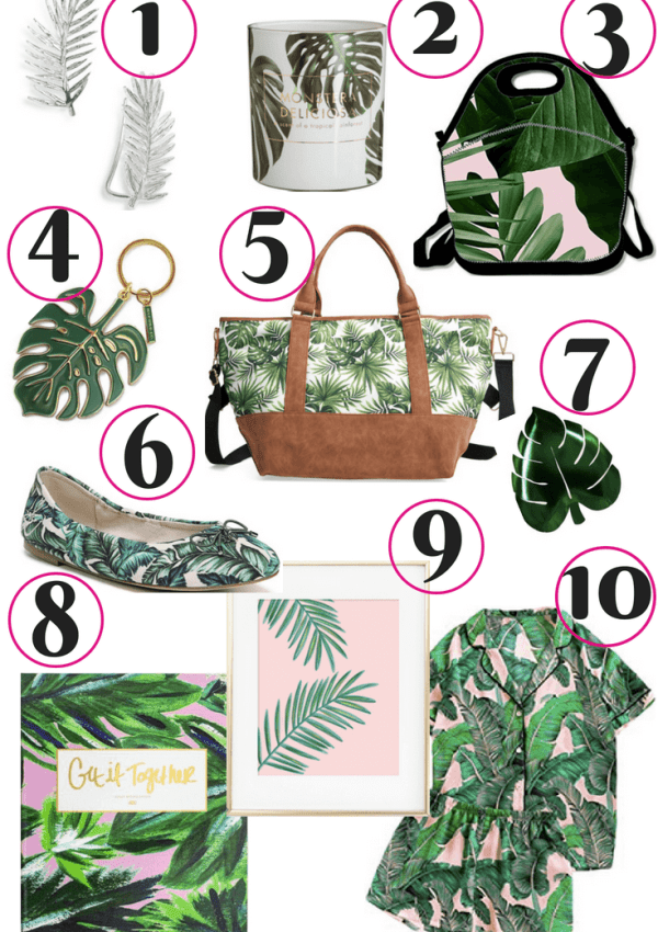 10 Trending Palm Tree Prints to Obsess Over Now