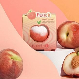 Bubble T Tastea Bath Fizzer Peach