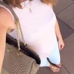 Pale Pink Top and Baby Blue Denim – Loft Look