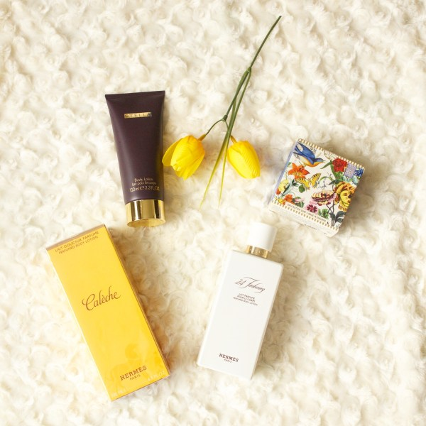 My favorite perfumed body lotions