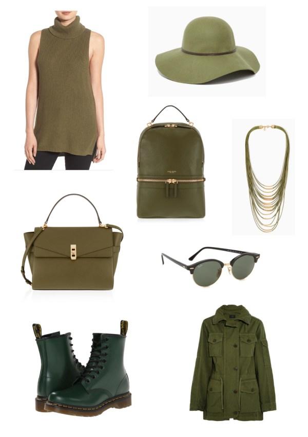Forest Green Fashion Board