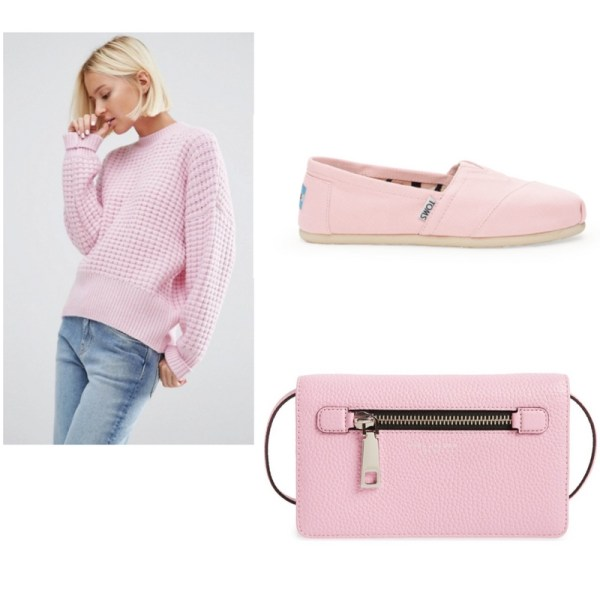 Pastel Pink Outfit Idea