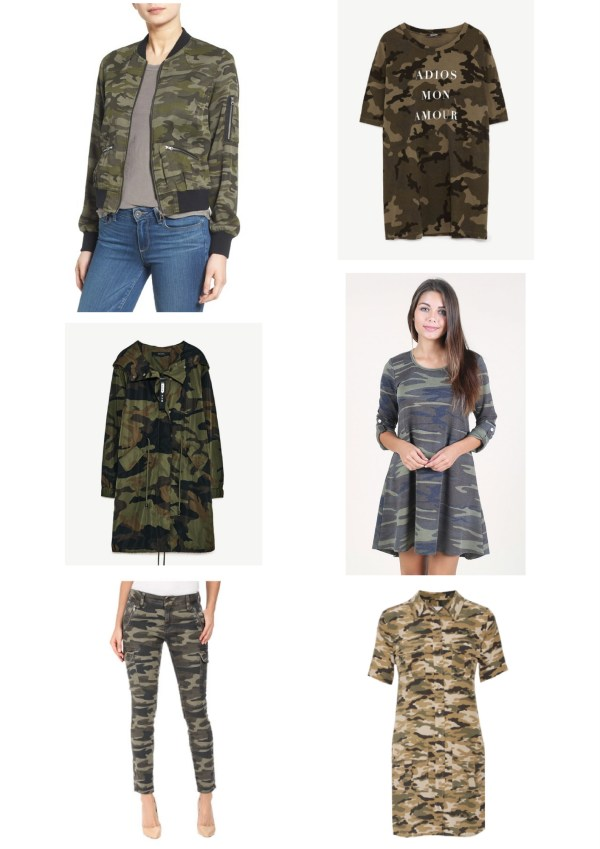 Popular trends this Spring - Military