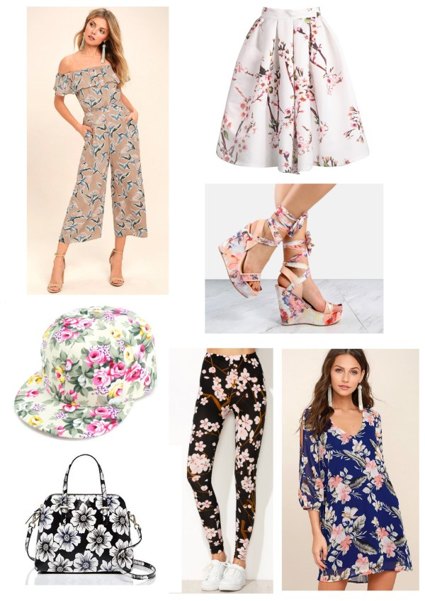 Popular trends this Spring - Florals