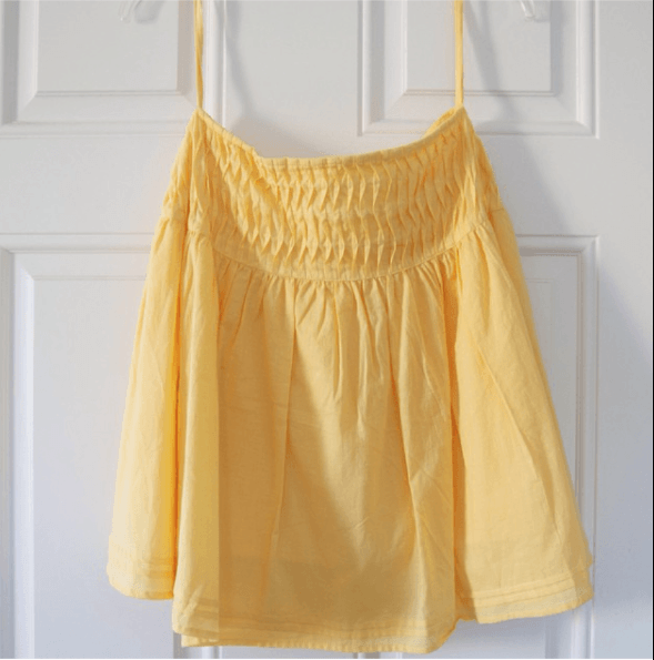 Yellow skirt for sale