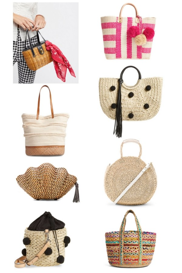 Wicker bags, Weave baskets