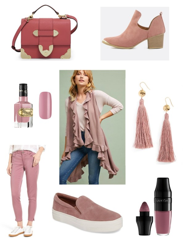 Mauve - the color you need this Fall!
