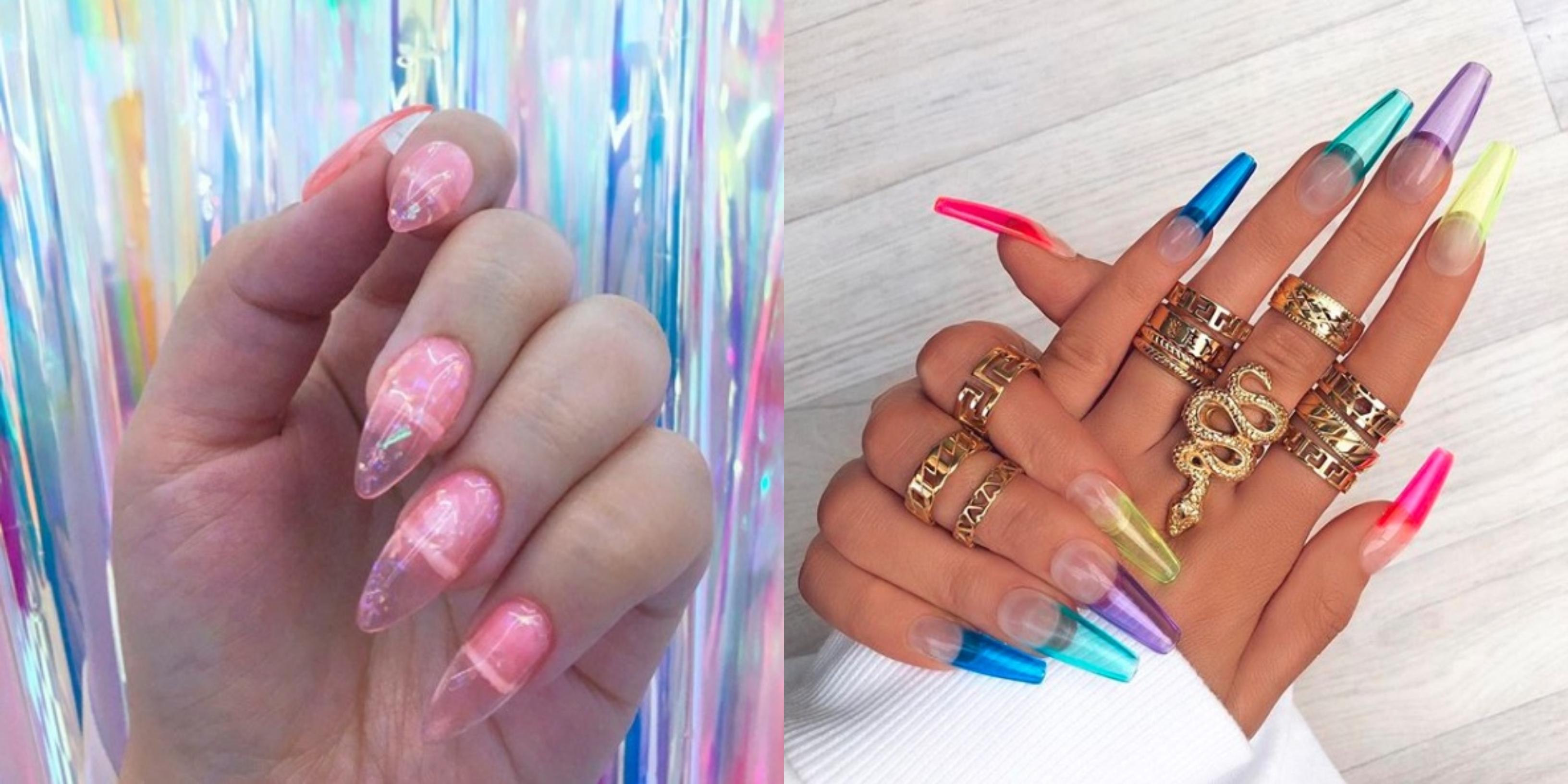 Modne Paznokcie 2019 Jelly Nails Czyli Efektowny Manicure Na