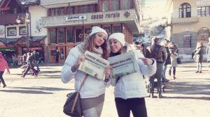 """Le hostess Glamour distribuiscono """"Buongiorno Italia"""""""