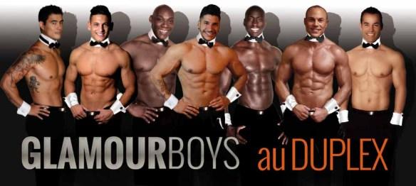 Soirée parisienne avec les glamour boys