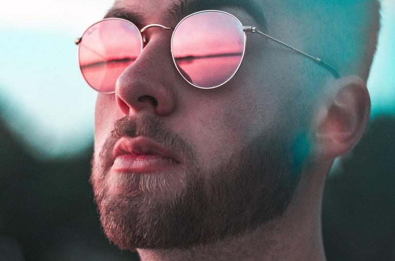Barttrimmer Brille