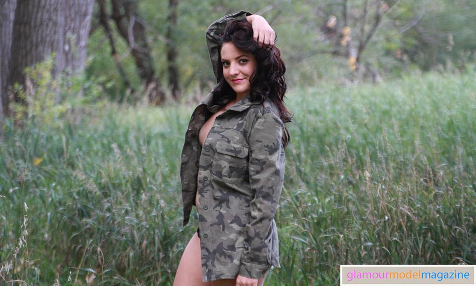 Denver Glamour Model Gabrielle shot by Jay Kilgore