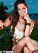 Glamour Model Magazine Babe of the day Tina Mari