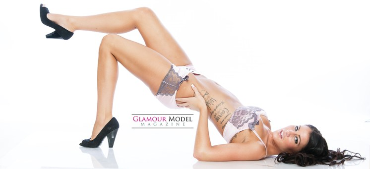 Vicki Francia ©Jay Kilgore for Glamour Model Magazine