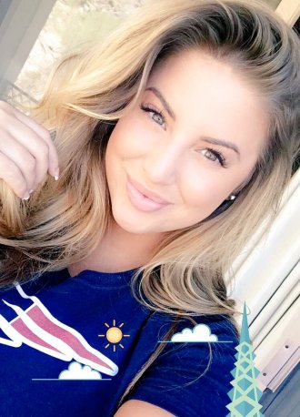 GMM Babe Ashley Alexiss reppin her city!