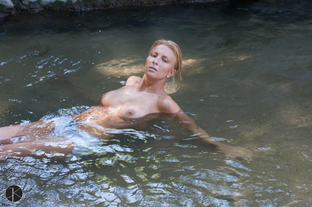 Swimming with Keeli