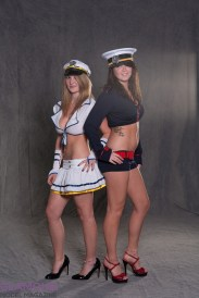 Amanda Sue and Ashley in their first shoot
