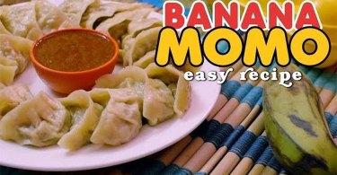 Banana MoMo Recipe Image