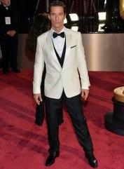 Matthew McConaughey in Dolce & Gabbana