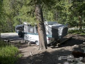 Campsite, Collegiate Peaks Campground.