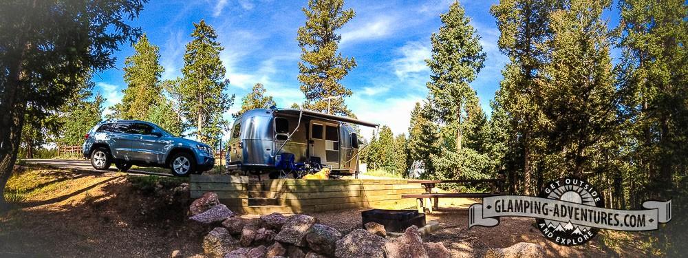 Campsite, Mueller State Park, CO.