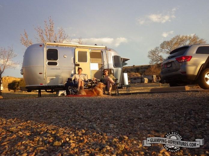 Campsite at Lake Pueblo, SP, Pueblo, CO