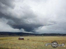 Storms all weekend long. This one brought us hail and snow. Kenosha Pass, CO