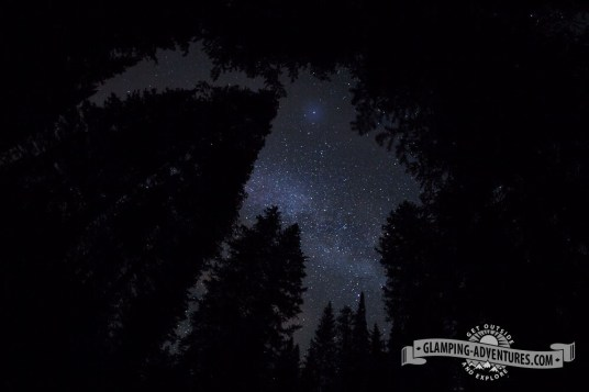 Milky Way above our campsite. Gore Creek CG, Vail CO.