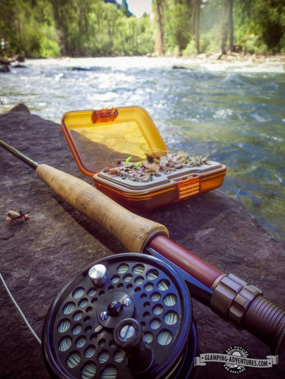 Choosing the right fly on the Crystal.