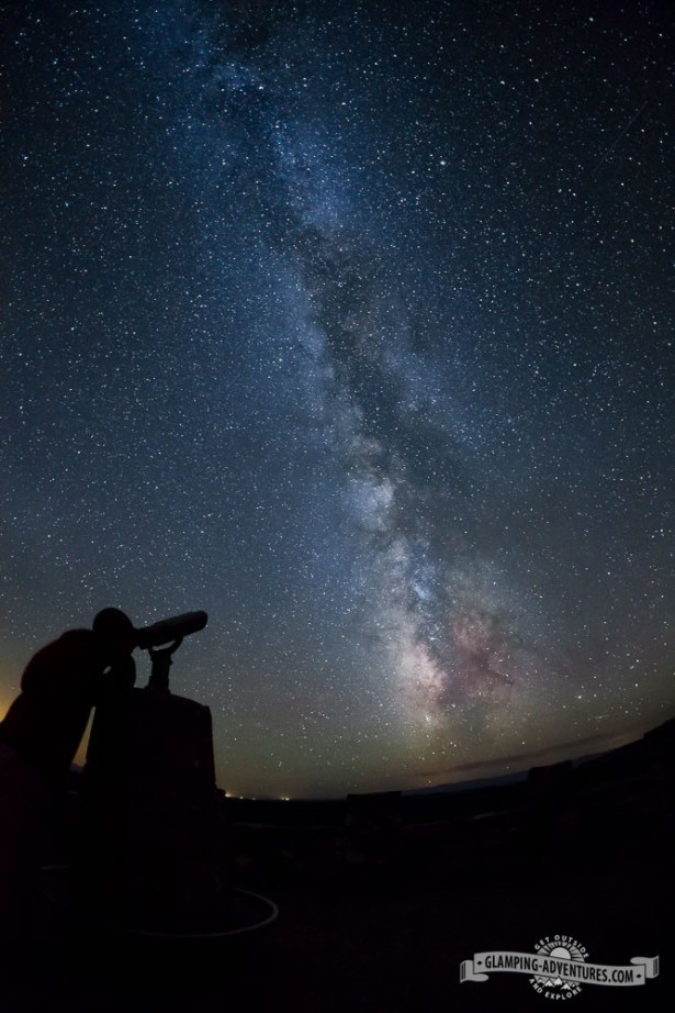 Milky Way picture at the Observation Point at Libby Flats, WY.