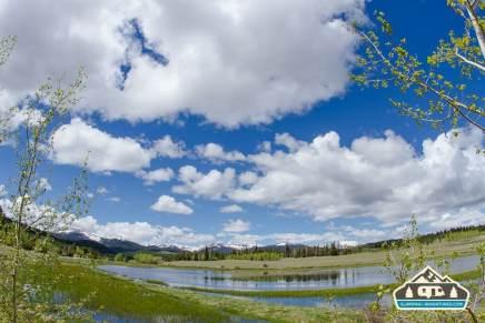 The pond along Kenosha Pass, CO.