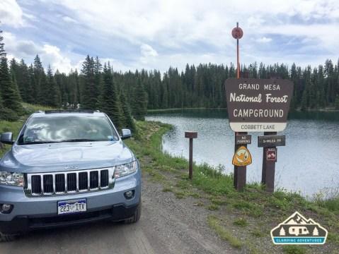 Welcome to Cobbett Lake CG! Grand Mesa CO.