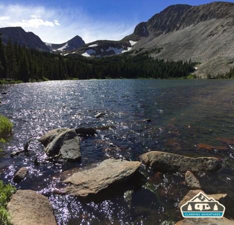 Beautiful scenery, Mitchell Lake.