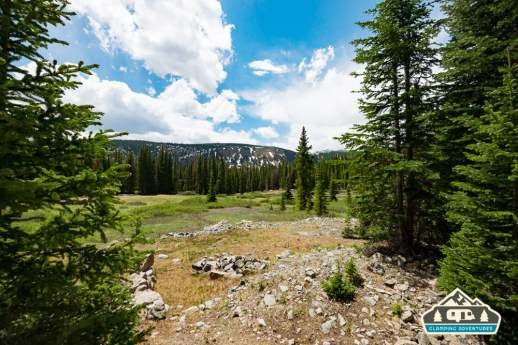 Start of the Midland Trail. Hagerman Pass Rd. Leadville, CO.
