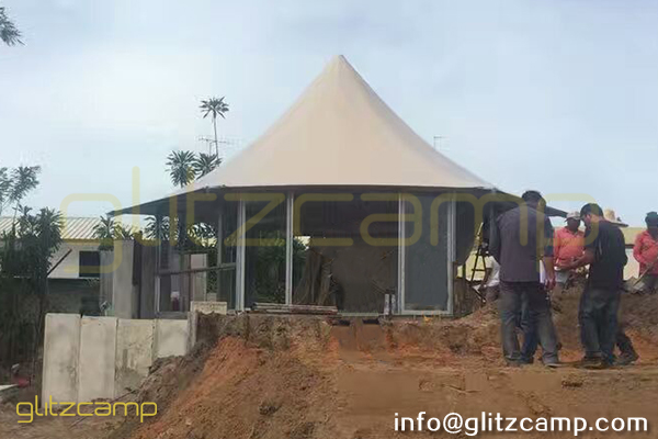 Luxury Lodge Tent For Sale Glamping Resort Canopy Tent