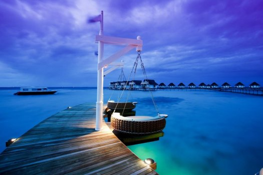 Glamping Blog villa accommodation in Maldives at Centara Grand Island Resort