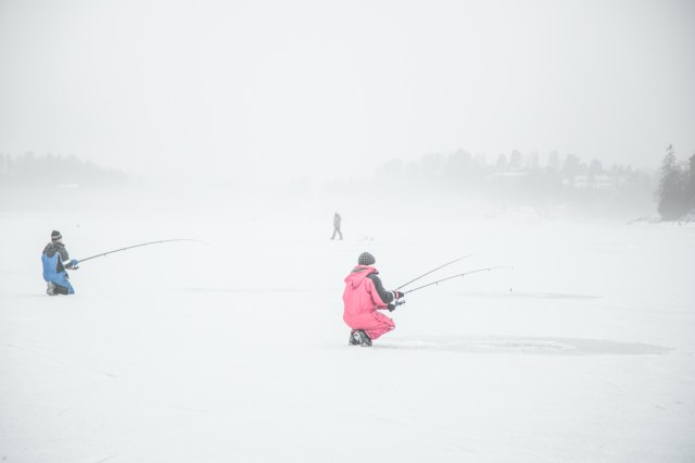 Glamping Blog News 8 Winter Activities Ice Fishing - Kristen Kellogg