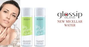 Acqua micellare glossip: la novità di stagione