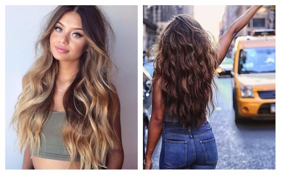 Come fare onde su capelli medi
