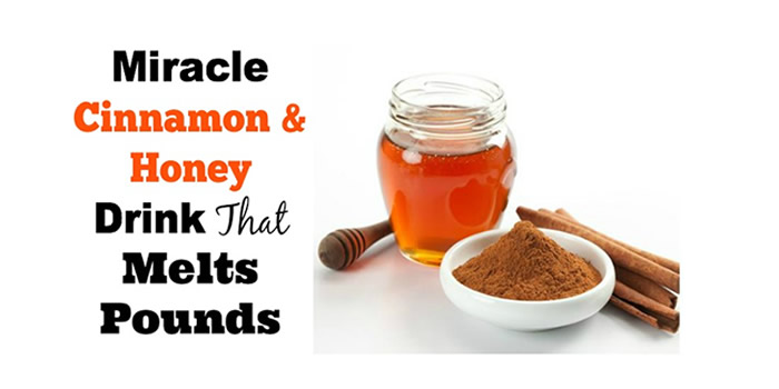 Want To Lose Weight? Try Honey and Cinnamon Drink