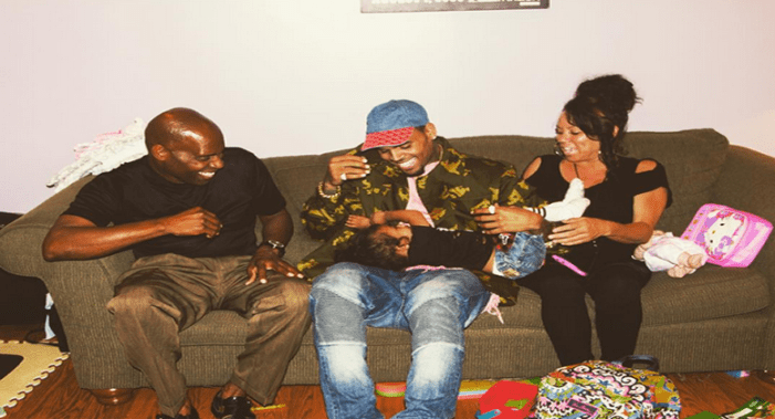 Chris Brown Shares New Family Photos Of His Parents And Daughter