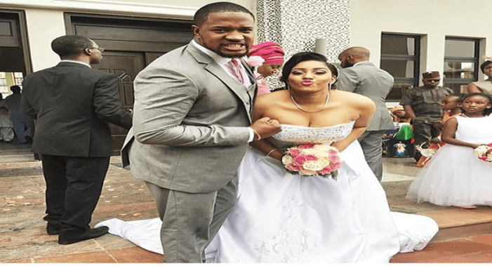 First Fun Photos From Actor Mofe Duncan And Jessica Kakkad's Wedding